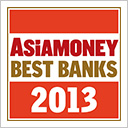 Asiamoney Best Bank Awards 2013