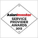 AsianInvestor Service Provider Awards 2013