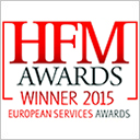 HFM European Services Awards 2015