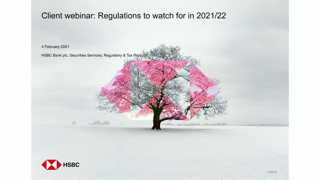 Global regulations to watch
