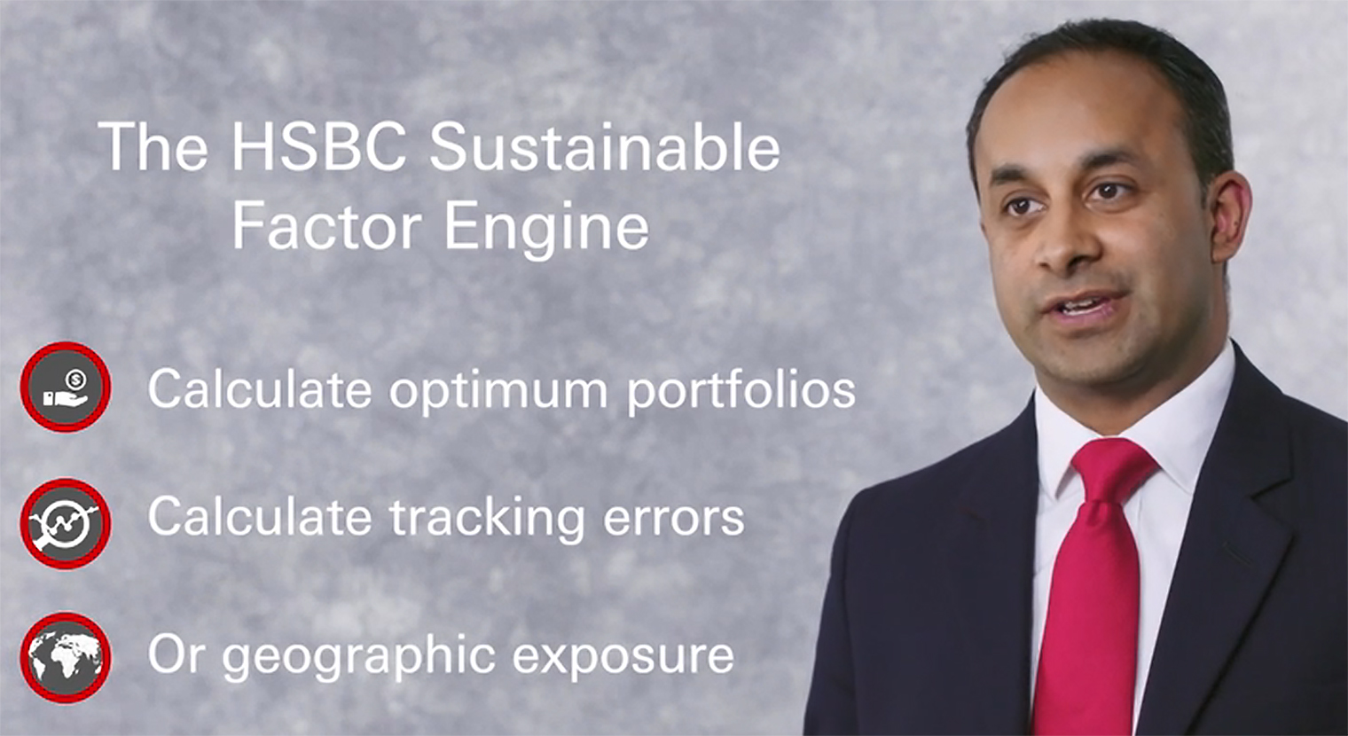 The HSBC Sustainable Factor Engine