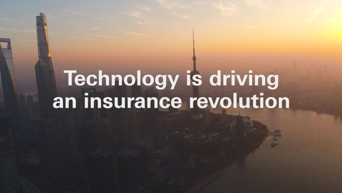 Technology is driving an insurance revolution